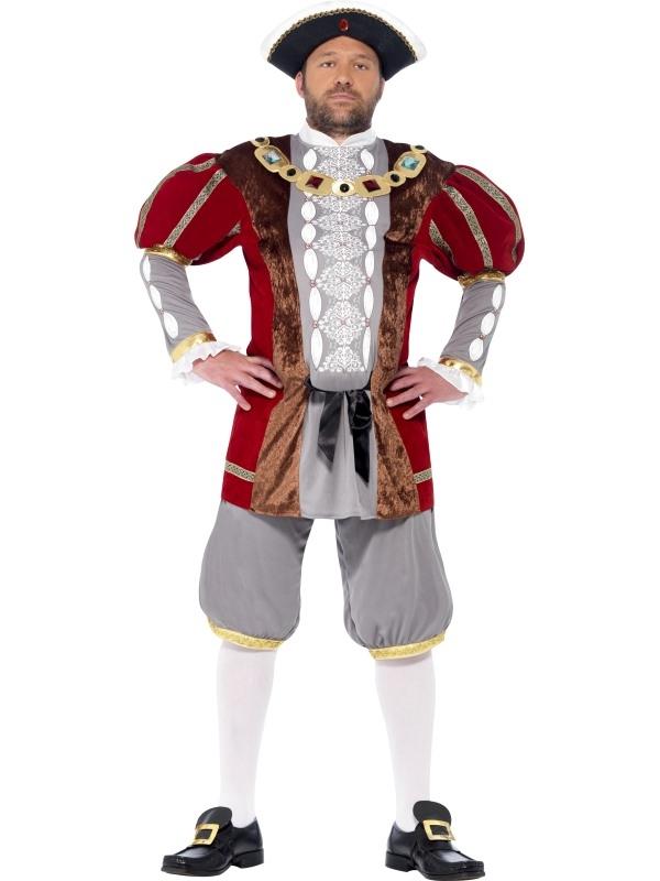 Henry VIII Deluxe Kostuum