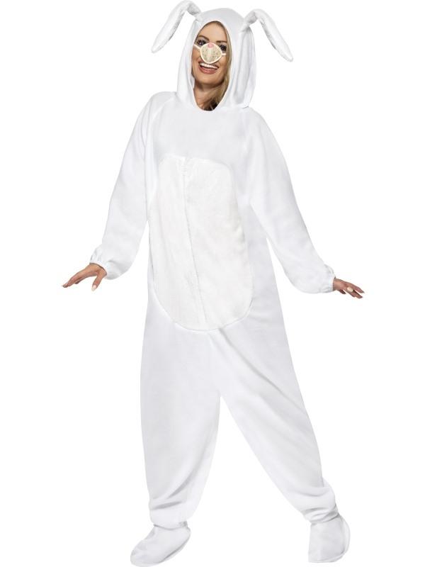 Wit Konijn Verkleedkleding