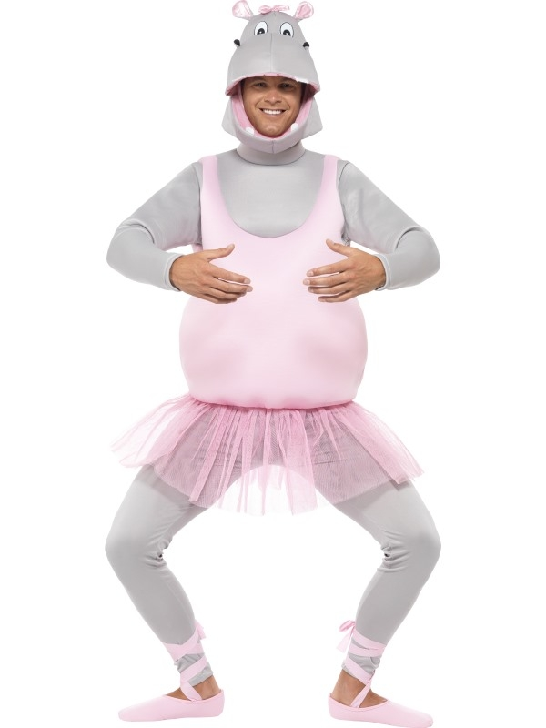 Ballerina Hippo Kostuum