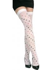 Speelkaarten stockings kousen
