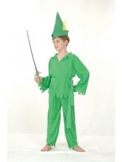 Peter Pan groen kinder kostuum