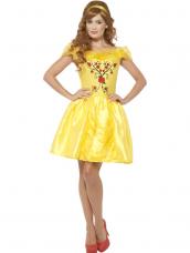Enchanting Beauty Belle Sprookjes Kostuum