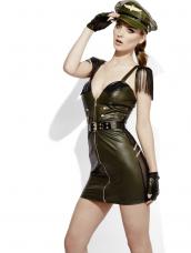 Sexy Miss Behave Military Leger Kostuum