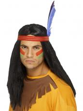 Indian Brave Indianen Pruik