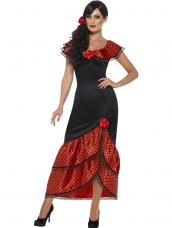 Flamenco Senorita Spaanse Jurk Verkleedkleding