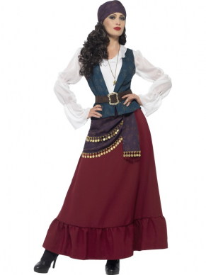 Deluxe Pirate Buccaneer Beauty Piraten Outfit