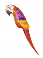 Opblaasbare papegaai 116cm groot