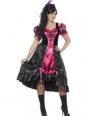 Plus size Sassy Saloon Wild West Kostuum
