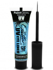 Blauwe UV Glitter Me Up Eyeliner