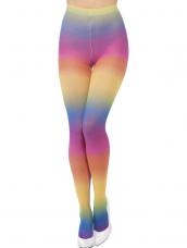 Vrolijk Gekleurde Regenboog Panty