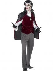 Vampier Dracula Heren Halloween Kostuum