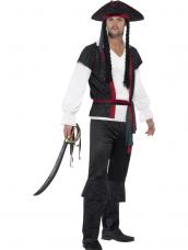 Aye Aye Piraten Kapitein Heren Kostuum