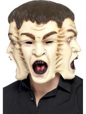 Horror masker 3 gezichten