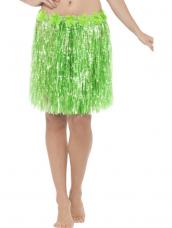 Hawaiian Hula Skirt met Bloemen Groen