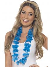 Hawaiian Lei  Neon Blauw
