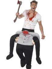 Piggyback Headless Costume
