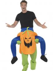 Piggyback Pumpkin Costume