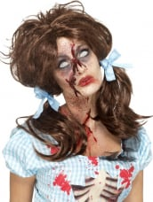 Zombie Bloody Country Girl Wig