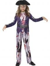 Deluxe Jolly Rotten Pirate Girl Kostuum