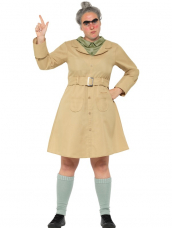 Roald Dahl Deluxe Mvr.Trunchbull Kostuum