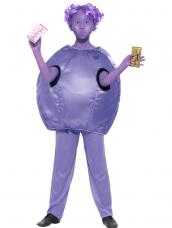 Roald Dahl Deluxe Violet Beauregarde Kinder Kostuum