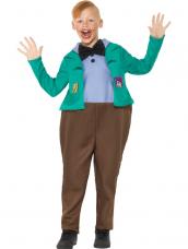Roald Dahl Deluxe Augustus Gloop Kostuum