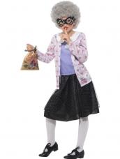 David Walliams Deluxe Gangsta Granny Kostuum