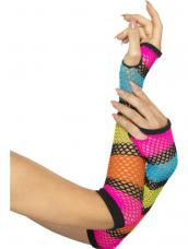 Fishnet Handschoenen Lang