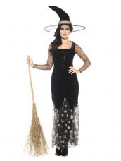 Deluxe Moon & Stars Witch Kostuum