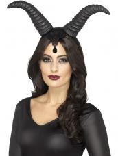 Demonic Queen Horns Hoofdband