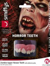Horror Teeth, Zombie, with Upper Veneer Teeth