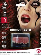 Horror Teeth, Invasion, with Upper Veneer Teeth