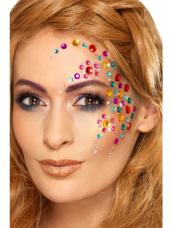 Rainbow Jewel Face Gems