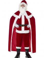 Deluxe Santa Claus Kostuum