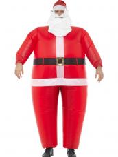 Inflatable Santa Kostuum