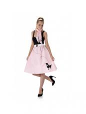 Light Pink Doodle Skirt & Necktie