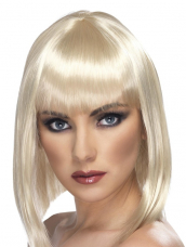 Glam Pruik Blond