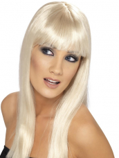 Glamourama Pruik Blond