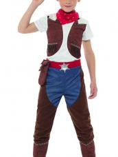 Deluxe Cowboy Jongens Kostuum