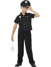 New York Cop agent kinder kostuum