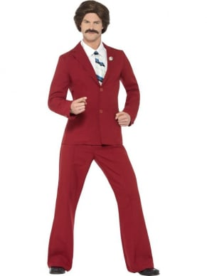 Anchorman Ron Burgundy Kostuum