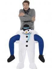 Snowman Piggyback Kostuum