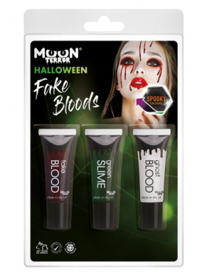 Moon Terror Mixed, Fake Blood, Slime, Ghost Blood 10ml