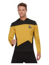 Star Trek, Voyager Operations Uniform, Top Zwart/Goud