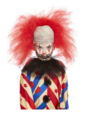 Maak jouw Scary Clown Look nu nóg enger met deze Make-Up FX, Scary Clown Kit op waterbasis.