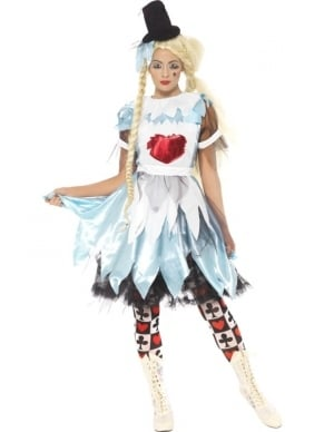 Alice in Blunderland Dames Kostuum