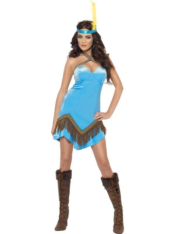 Indianen kostuum nodig shop bij ons voor meer kostuums - Deguisement pocahontas femme ...