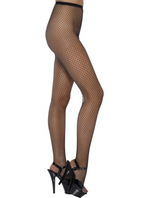 Lattice Zwarte Netpanty.