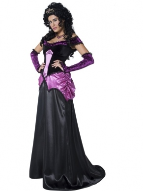 Countess Nocturna Dames Verkleedkleding