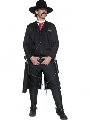 Authentic Western Sheriff Verkleedkleding